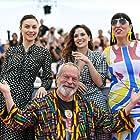 Terry Gilliam, Rossy de Palma, Olga Kurylenko, and Joana Ribeiro at an event for The Man Who Killed Don Quixote (2018)