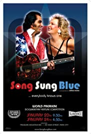 Song Sung Blue Poster
