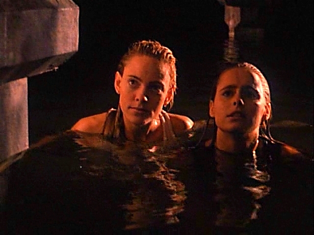 Ami Dolenz and Maya McLaughlin in Children of the Night (1991)