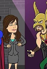The Social Netjerk/Smallville: Turn Off the Clark Poster