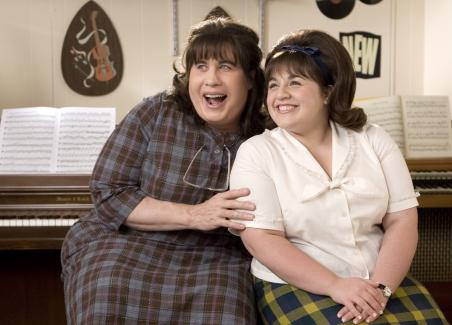 John Travolta and Nikki Blonsky in Hairspray (2007)