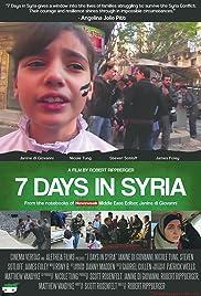 Watch 7 Days in Syria (2015) Online Full Movie Free