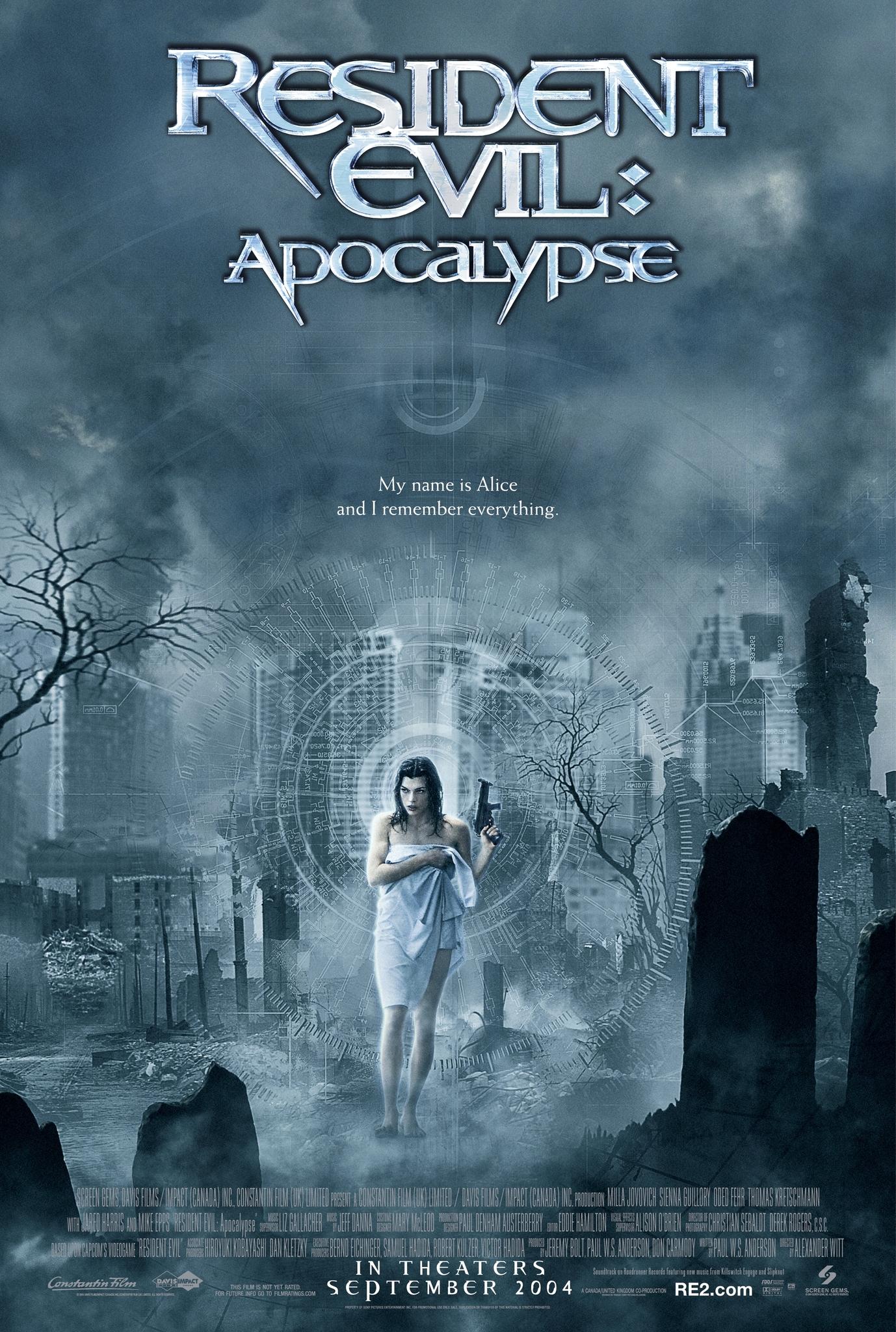 Resident Evil: Apocalypse (2004) Dual Audio [Hindi+English] Full Movie 480p, 720p Download