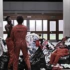 Robert Sheehan, Lauren Socha, Nathan Stewart-Jarrett, and Antonia Thomas in Misfits (2009)
