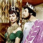 Peter Ustinov and Patricia Laffan in Quo Vadis (1951)