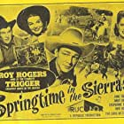 Roy Rogers, Stephanie Bachelor, Andy Devine, and Jane Frazee in Springtime in the Sierras (1947)