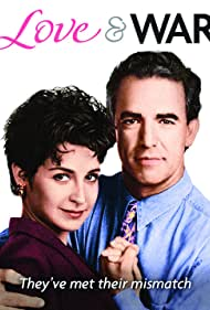 Annie Potts and Jay Thomas in Love & War (1992)