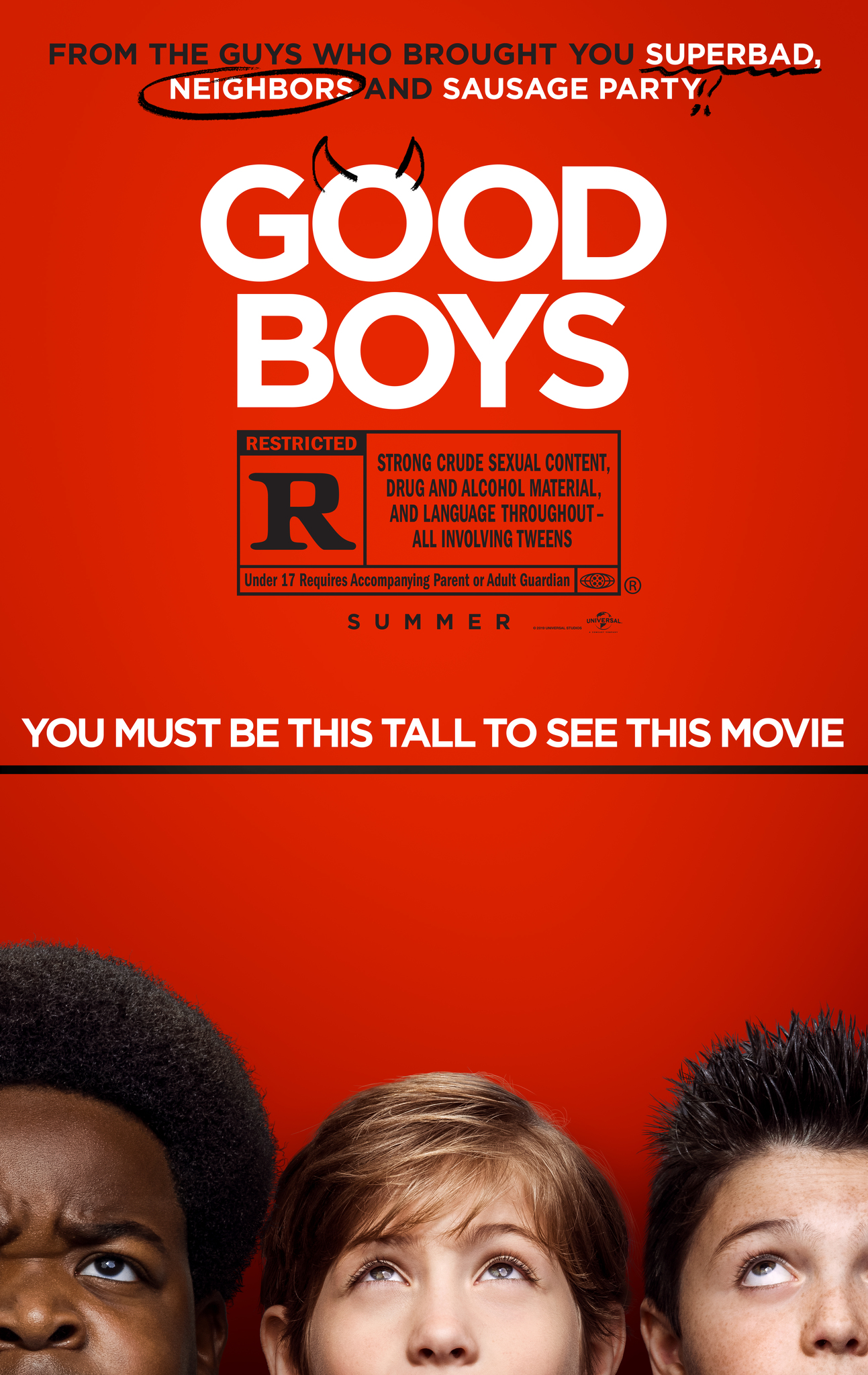 Image result for good boys poster
