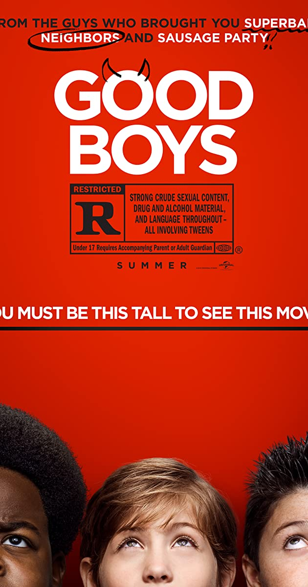 Watch Full HD Movie Good Boys (2019)