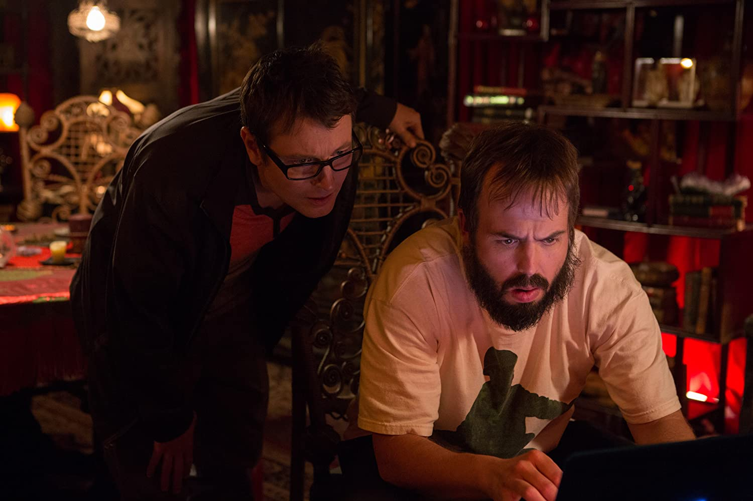Angus Sampson and Leigh Whannell in Insidious: Chapter 2 (2013)