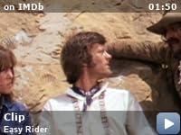 easy rider cemetery scene analysis