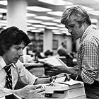 """All the President's Men"" Dustin Hoffman, Robert Redford 1976 Warner Brothers"