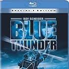 Roy Scheider and Candy Clark in Blue Thunder (1983)