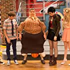 Ellie Harvie, Harrison Houde, Kolton Stewart, Sydney Scotia, and Charlie Storwick in Some Assembly Required (2014)