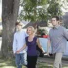 Martha Plimpton, Garret Dillahunt, and Lucas Neff in Raising Hope (2010)