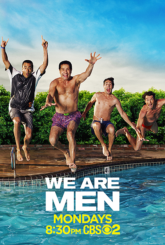 Tony Shalhoub, Jerry O'Connell, Kal Penn, and Christopher Nicholas Smith in We Are Men (2013)