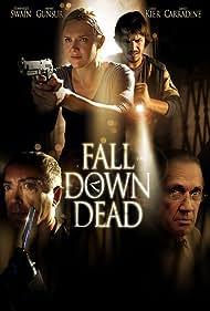 Dominique Swain, David Carradine, Udo Kier, and Mehmet Günsür in Fall Down Dead (2007)