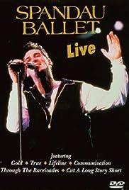 Spandau Ballet: Live Poster