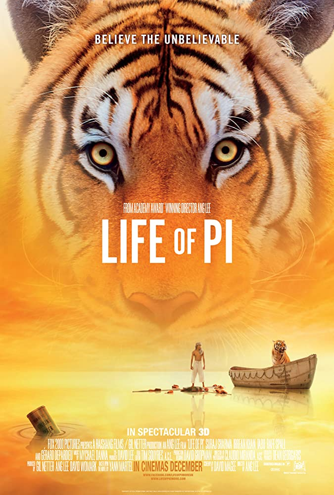 Life of Pi (2012) Hindi Dubbed
