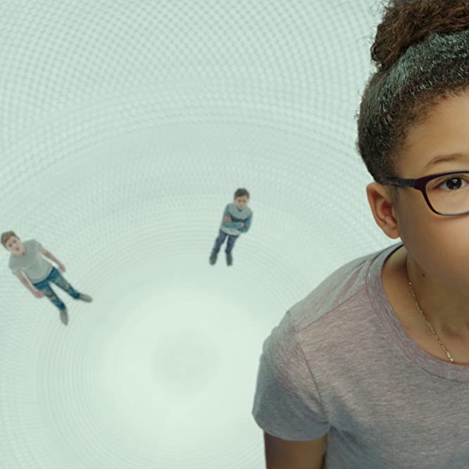 Storm Reid, Levi Miller, and Deric McCabe in A Wrinkle in Time (2018)