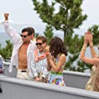 Leonardo DiCaprio, P.J. Byrne, Jonah Hill, Cristin Milioti, Henry Zebrowski, and MacKenzie Meehan in The Wolf of Wall Street (2013)
