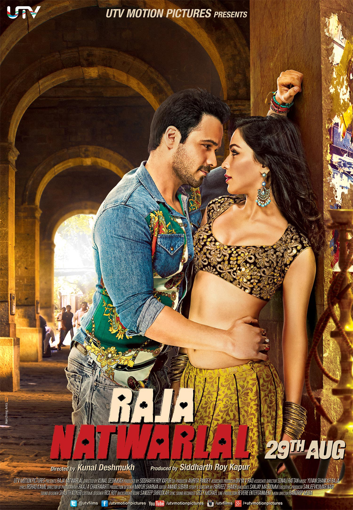Raja Natwarlal 2014 Hindi 720p HDRip ESubs 900MB Download