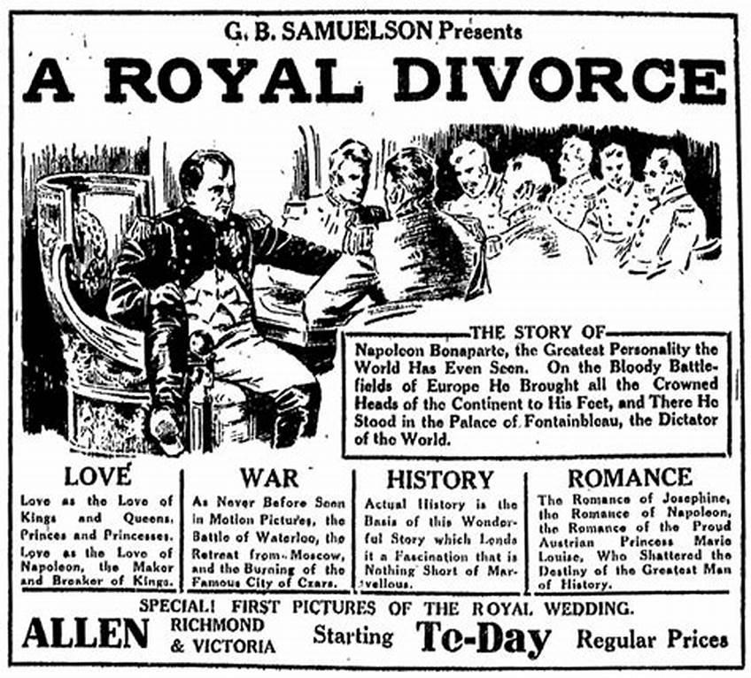 A Royal Divorce (1923)