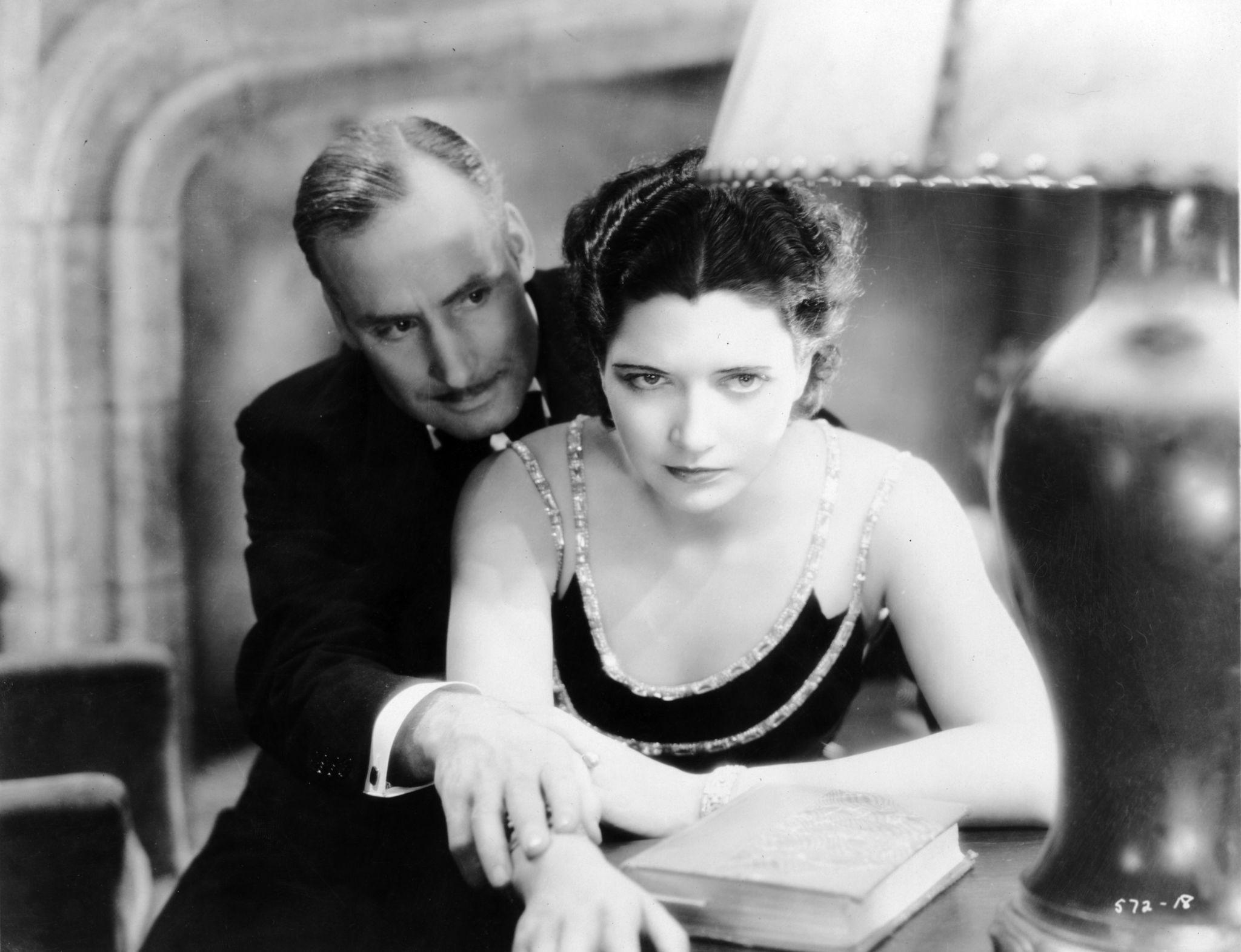Kay Francis and Alan Mowbray in Guilty Hands (1931)