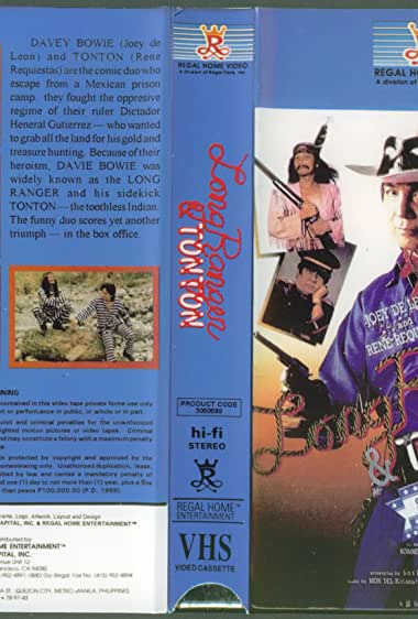 Watch Long Ranger And Tonton: Shooting Stars Of The West (1989)