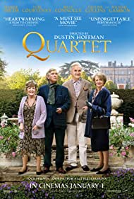 Maggie Smith, Pauline Collins, Billy Connolly, and Tom Courtenay in Quartet (2012)