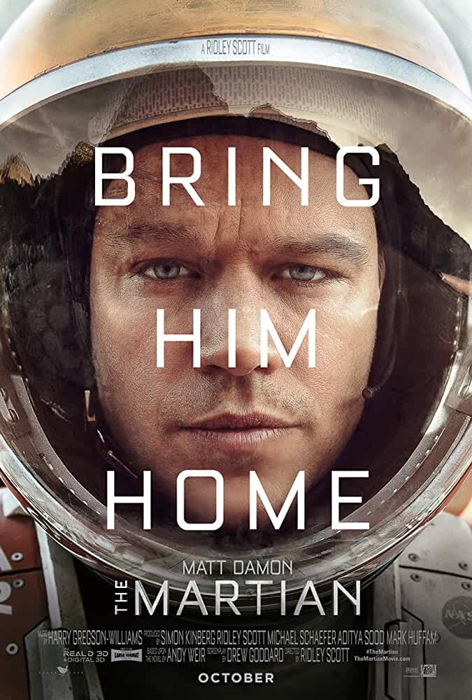The Martian (2015) | 720p | BRRip | ESubs | Dual Audio | [English2.0 + Hindi2.0] | Watch Online | Download |