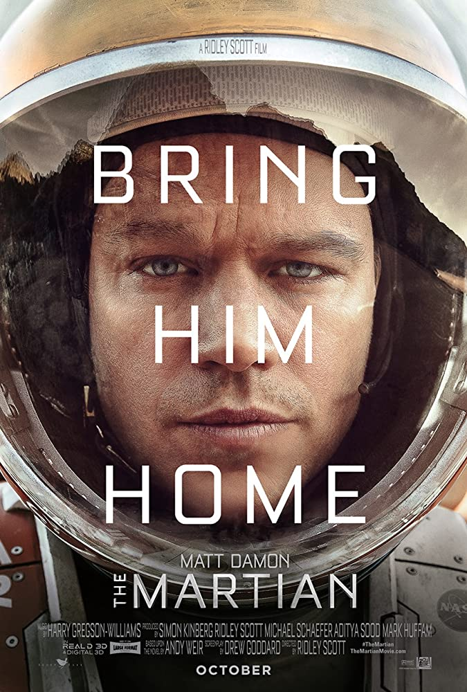 Matt Damon in The Martian (2015)