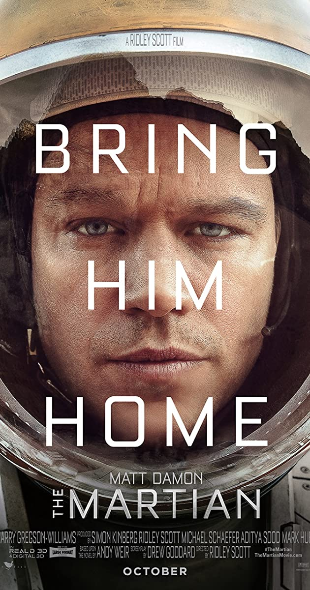 Subtitle of The Martian