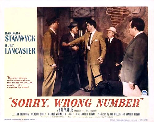 sorry wrong number play summary