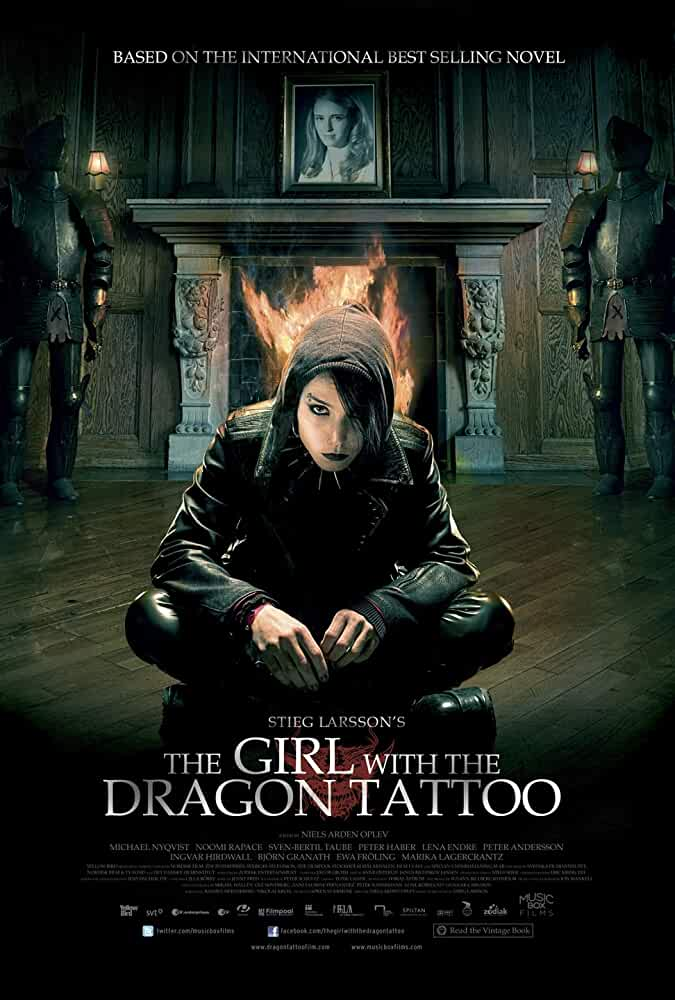 The Girl with the Dragon Tattoo (2009) Hindi Dubbed