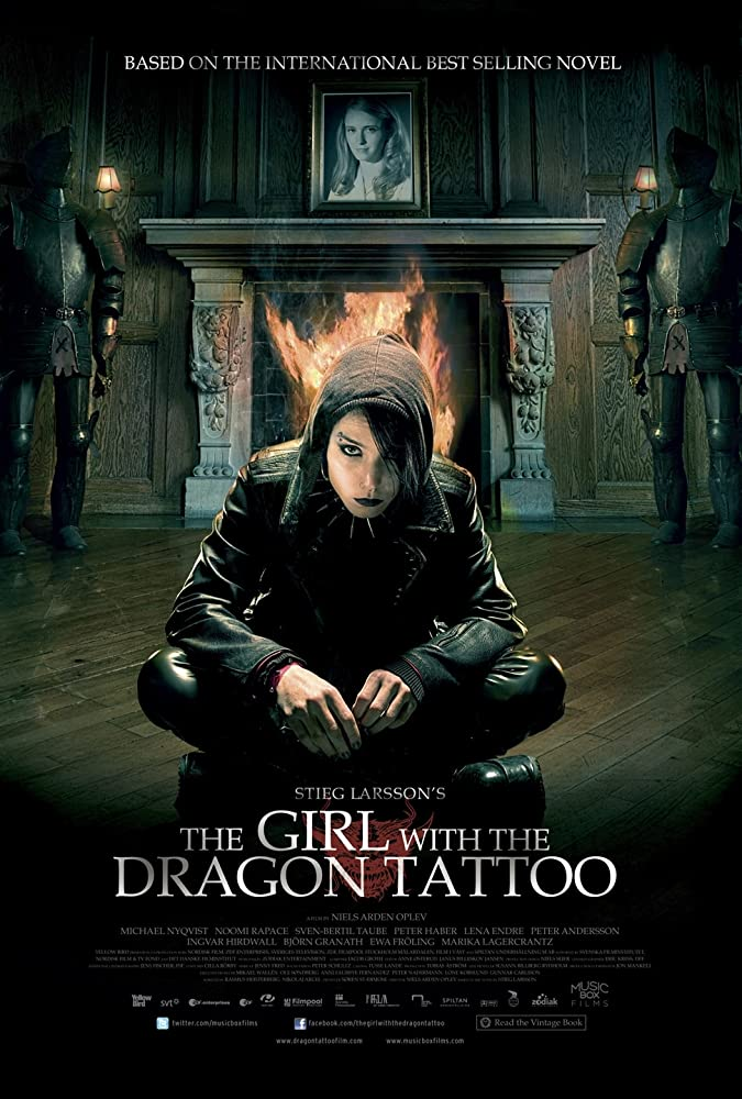 The Girl with the Dragon Tattoo 2009 Hindi Dual Audio 720p BluRay 1.1GB ESub Download