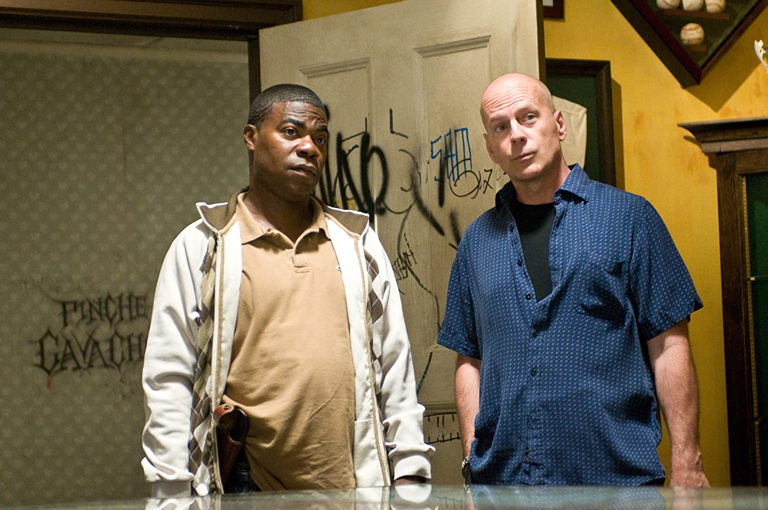 Bruce Willis and Tracy Morgan in Cop Out (2010)