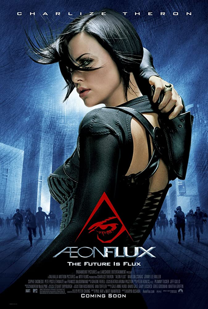 Æon Flux 2005 Hindi Dual Audio 300MB BluRay