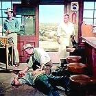 Ernest Borgnine, Walter Brennan, Robert Ryan, and Walter Sande in Bad Day at Black Rock (1955)