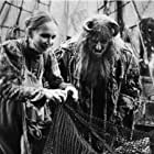 Katherine Helmond and Peter Vaughan in Time Bandits (1981)