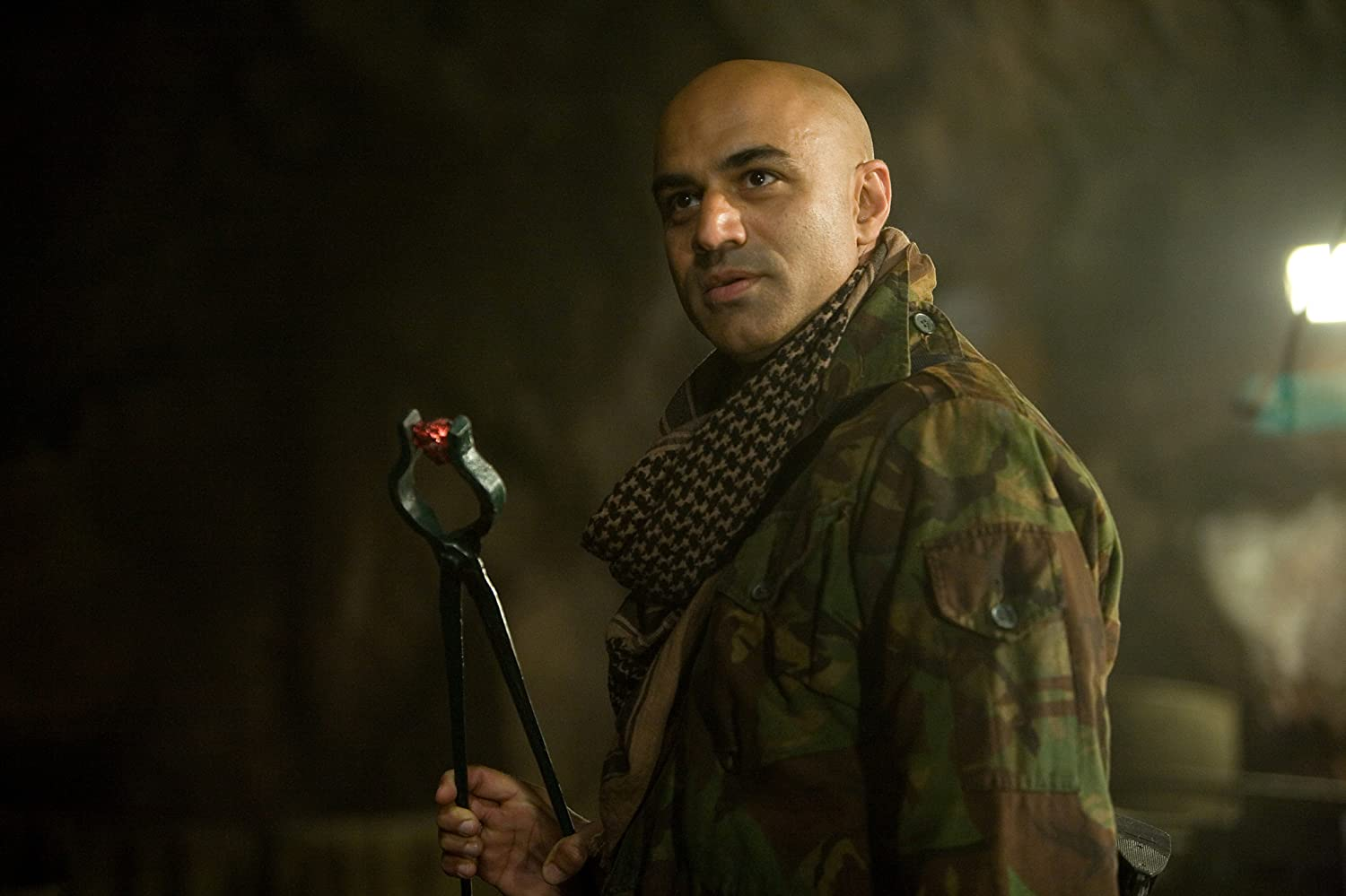 Faran Tahir in Iron Man (2008)