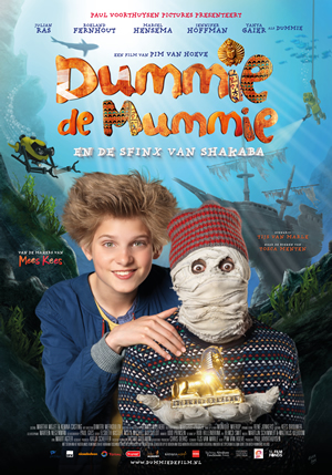 MUMIJA DUMIS IR ŠAKABOS SFINKSAS (2015) / DUMMIE THE MUMMY AND THE SPHINX OF SHAKABA