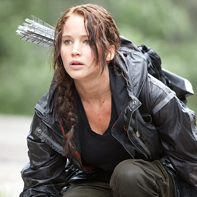 Jennifer Lawrence in The Hunger Games (2012)