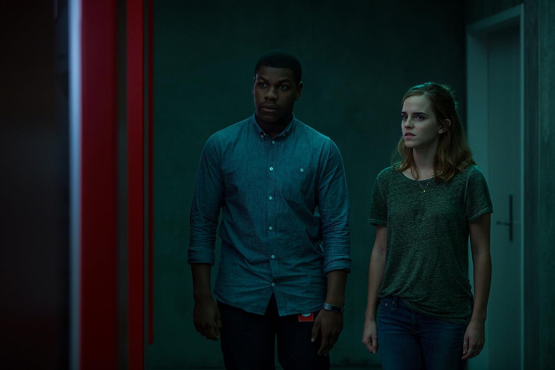 Emma Watson and John Boyega in The Circle (2017)