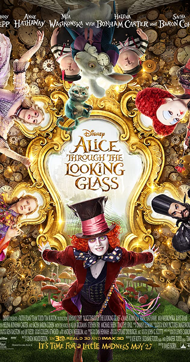 Alice Through The Looking Glass 2016 Plot Summary Imdb