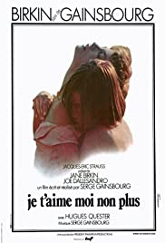 Je t'aime moi non plus (1976) Poster - Movie Forum, Cast, Reviews