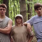 Moises Arias, Gabriel Basso, and Nick Robinson in The Kings of Summer (2013)