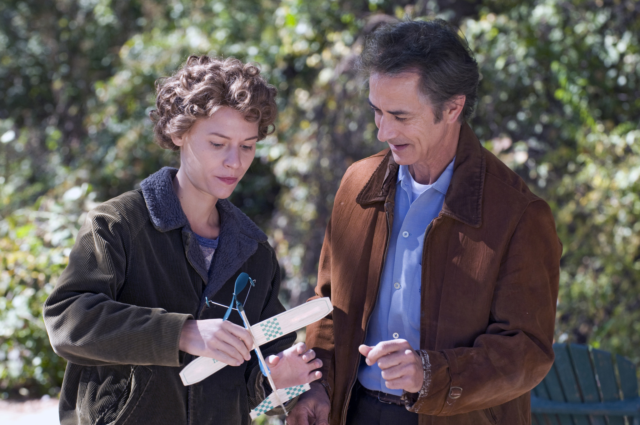 Claire Danes and David Strathairn in Temple Grandin (2010)