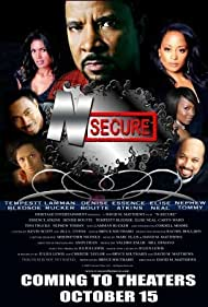 Elise Neal, Essence Atkins, Tempestt Bledsoe, Thomas Miles, Lamman Rucker, Denise Boutte, and Cordell Moore in N-Secure (2010)