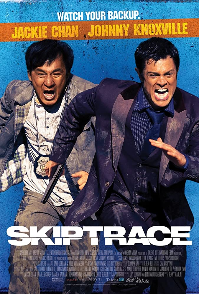 Skiptrace 2020 Hindi Dubbed ORG Movie 720p BluRay ESubs 1GB MKV